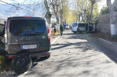 accidente carretera berja adra marzo 2021